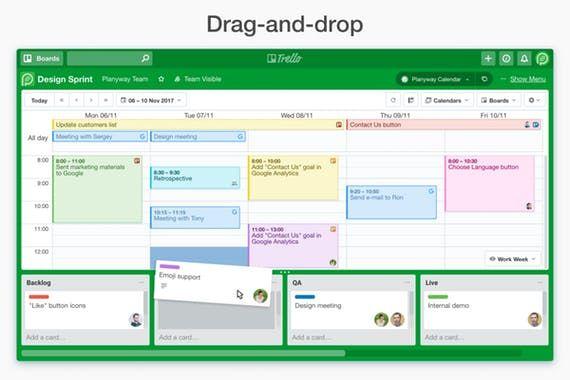 Planyway Google Calendar Inside Your Trello Windows Mac And