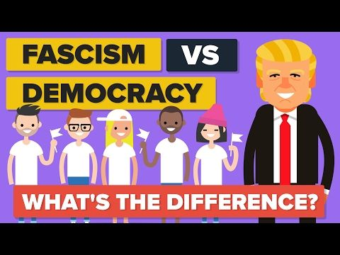Fascism vs Democracy - What's The Difference? - Political Comparison - YouTube