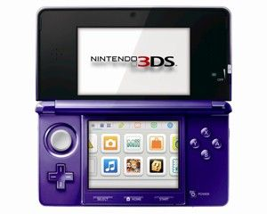 Nintendo 3DS Console - Midnight Purple (Nintendo 3DS)