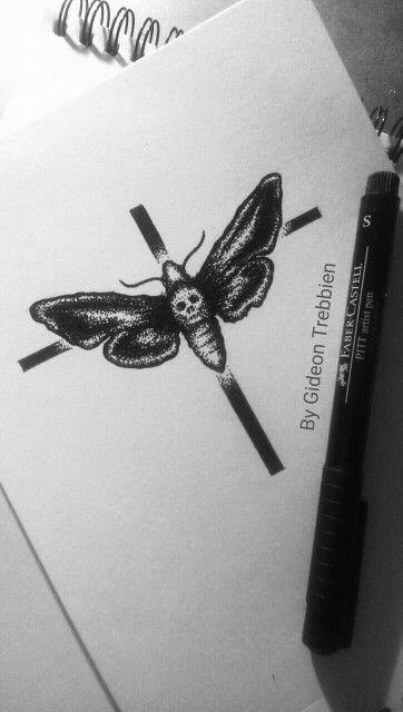 Moth Design by Gideon Trebbien