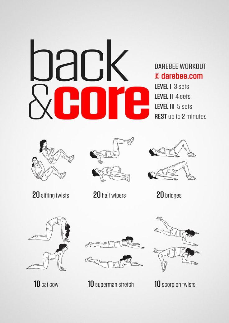 Back & Core Workout