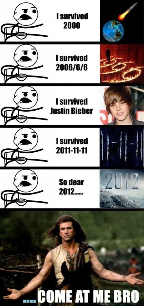 I didn't survive Justin Bieber... he killed me with his awesomeness