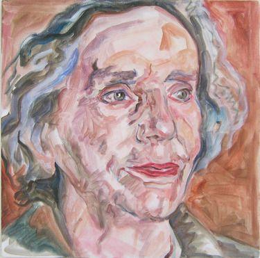 Saatchi Online Artist Andrea Araneda; Painting, Nelly Slavic #art