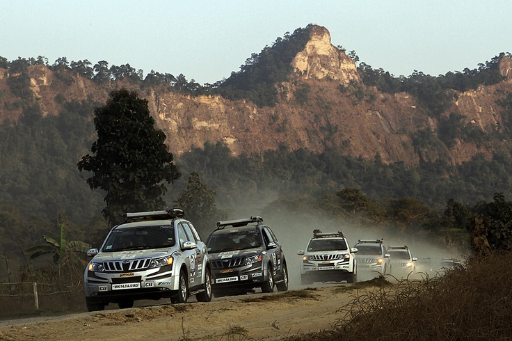 XUV 500's are in Asean Rally