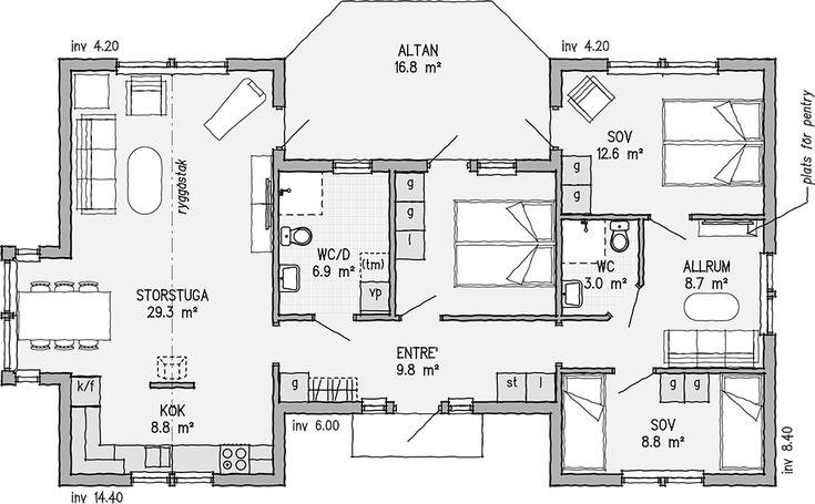 Strandviken 102 | Ett bättre boende. Arkitektritade hus, bygga fritidshus | VärsåsVillan