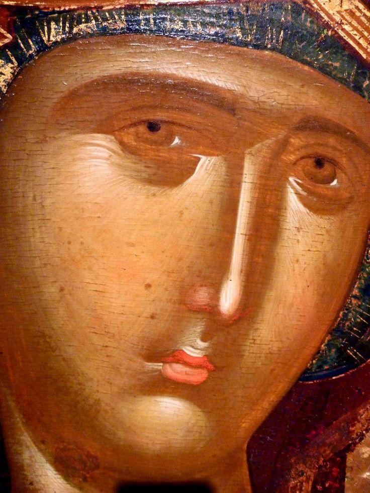 Лик Богородицы
