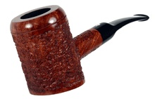 Gepetto Pipe - Rusticated - Natural #411 Poker