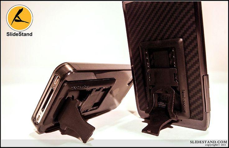 The black on black slidestand.