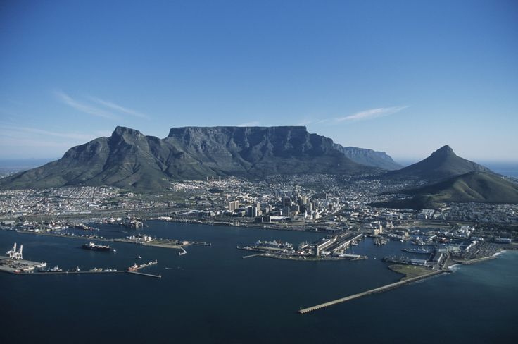 table mountain silhouette - Google Search