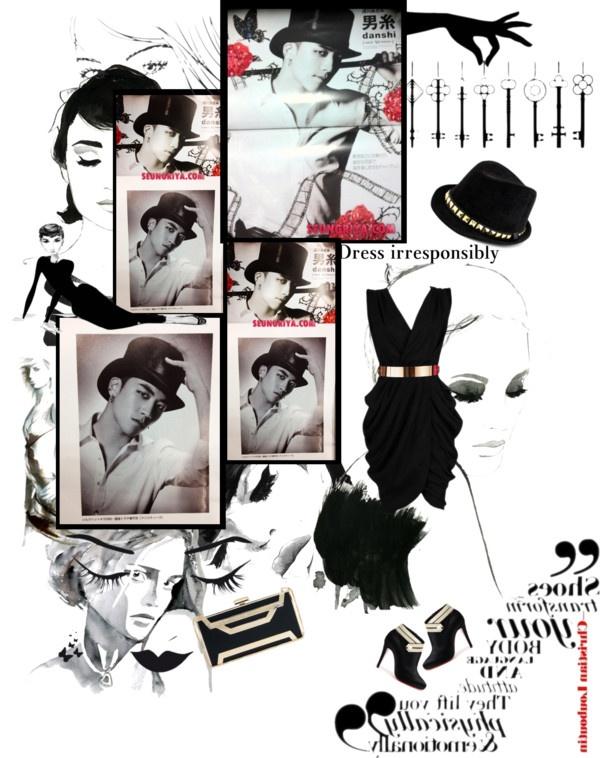 """""""Seungri for Glamorous Magazine"""" by raphaellakay ❤ liked on Polyvore:"""