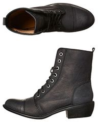 ROC BOOTS TERRITORY LEATHER BOOT - BLACK OILY