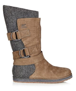 Chipahko grey leather boots Sale - SOREL Sale