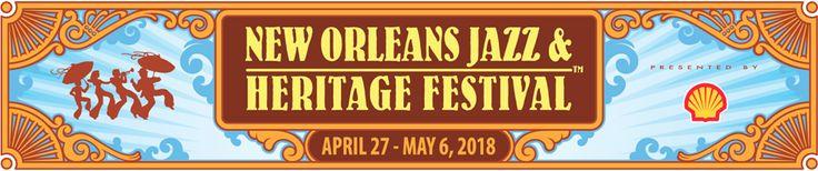 New Orleans Jazz & Heritage Festival - last weekend April, first weekend May