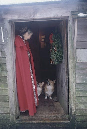 Tasha Tudor and her corgis The Daily Corgi