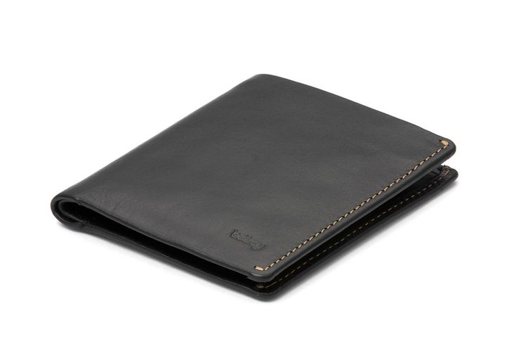 Bellroy Men's Leather Note Sleeve Wallet Black