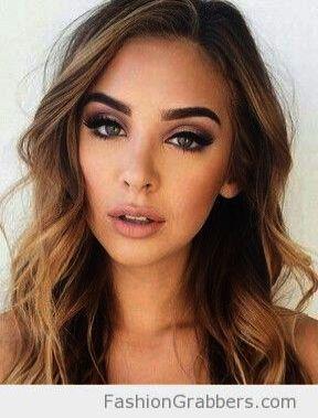 Wie Augen Make-up natürlich aussehen, obwohl natürliche Augen Make-up kein Eyeliner lange M …   – Eye Makeup Natural