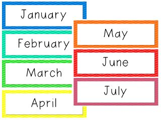 photo regarding Printable Months of the Year for Preschool titled Free of charge Printable Preschool Clroom Decorations Decoration
