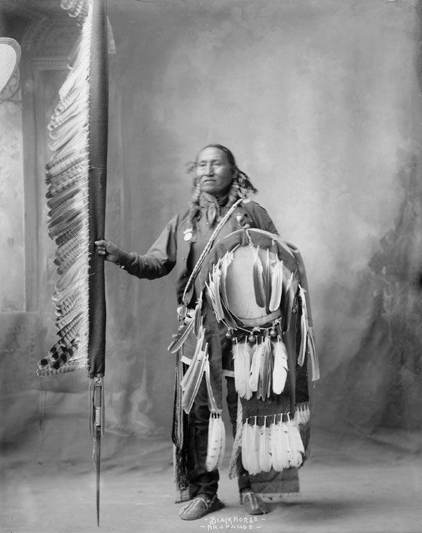 Black Horse - Arapaho 1898