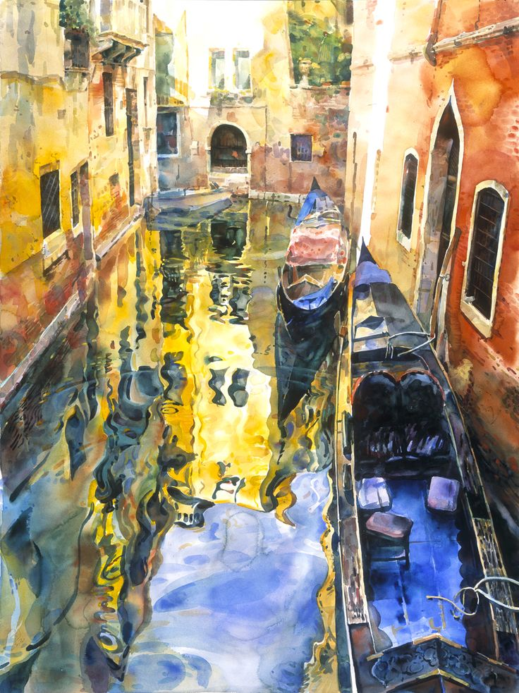 Stephen Zhang | Transparent Watercolor. Lanaquarelle Watercolor Paper stretched on frame