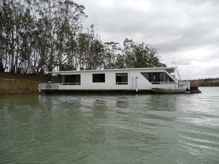 A Houseboat on a river, on a  lake on any waterway is special!