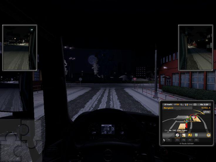 Ez a sorozat képernyőmentés a Trélerek különféle fajtáit mutatja be: tél másik szemszögből.