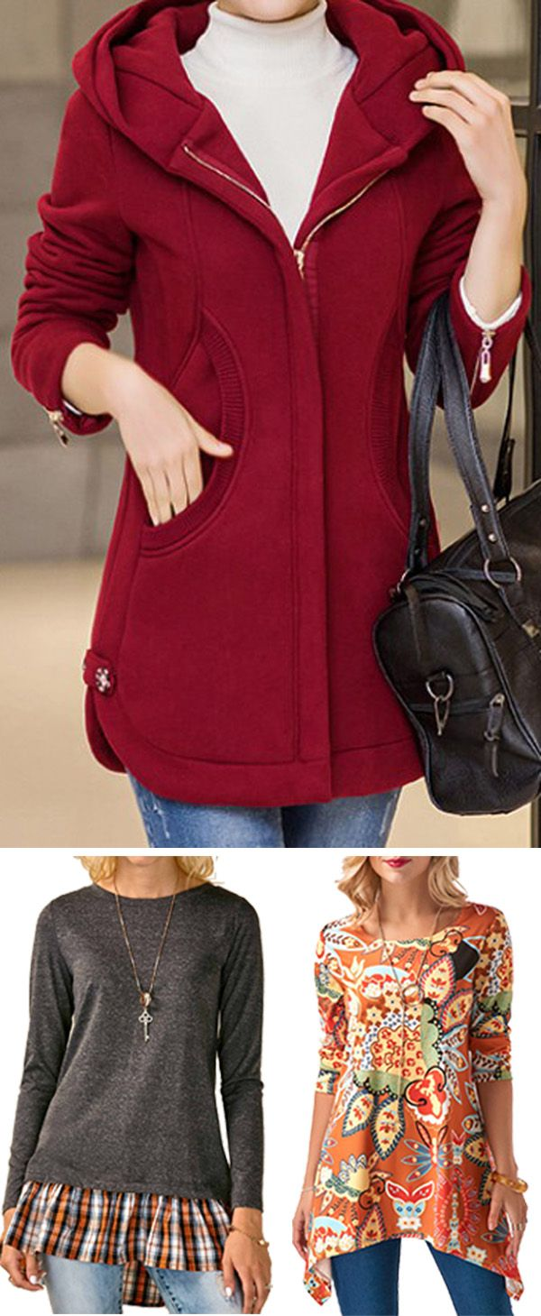 red coat, red coats for women, cute tops for women, long sleeve tops for women