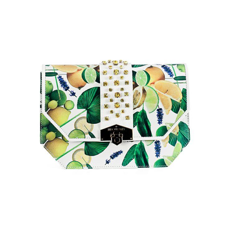 Hibourama Bags are available at FINAEST.COM | #bags #madeinitaly #rachelemancini #mailaferlisi #finaest #hibourama #ss14 #fashion #lemon