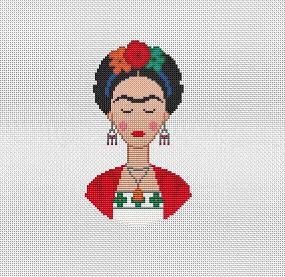 Feminist Cross Stitch Pattern Modern Xstitch pattern Counted Cross Stitch chart Feminist Modern Art Download PDF Pattern
