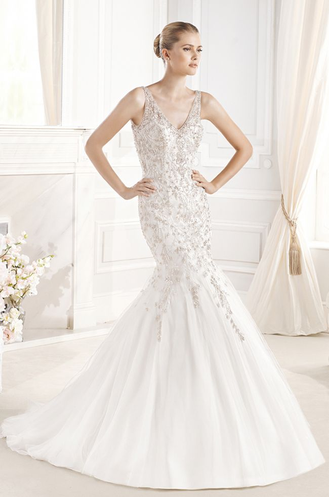 Awesome Ball Gown Wedding Dresses La Sposa Bridal Gown Collection Desvan strapless ballgown wedding dress