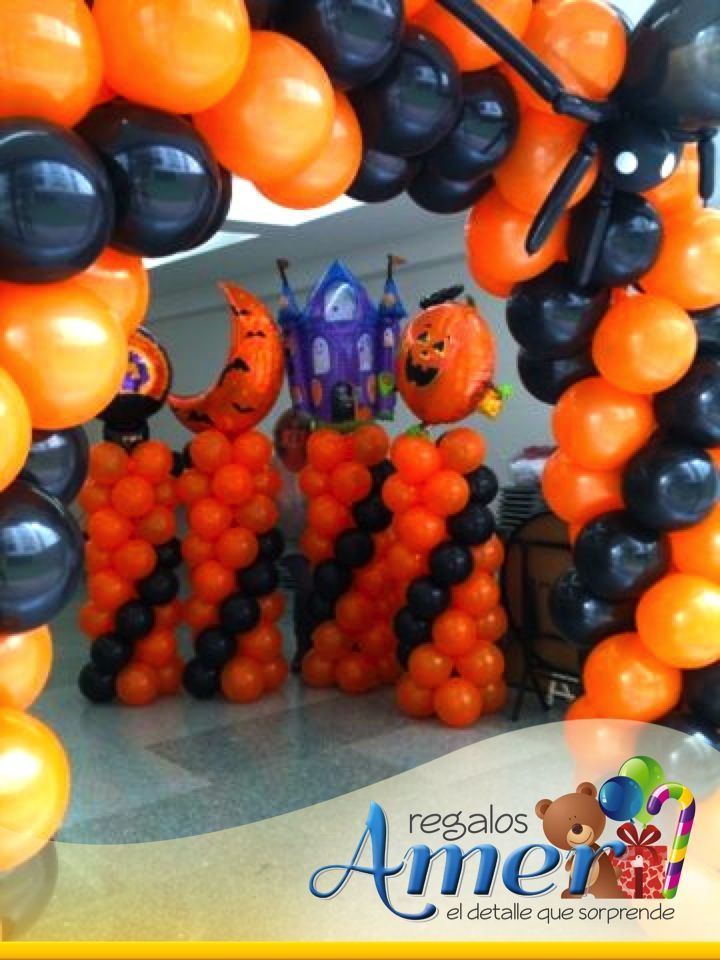 Globos decoracion halloween - Decoracion para halloween ...