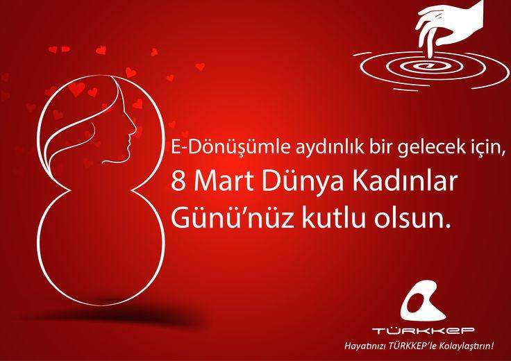 8 Mart Dünya Kadınlar Günü Kutlu Olsun! #türkkeplekutla