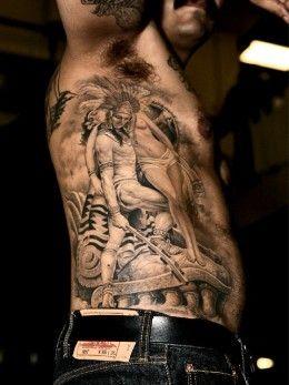 Haunting American Indian Tattoos