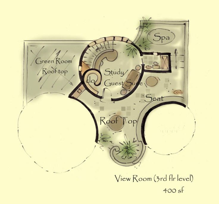 Caslte house plan kinan ii for Tiny castle house plans