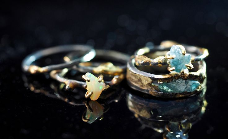 Silver rings with stones for women - large silver rings with stones river
