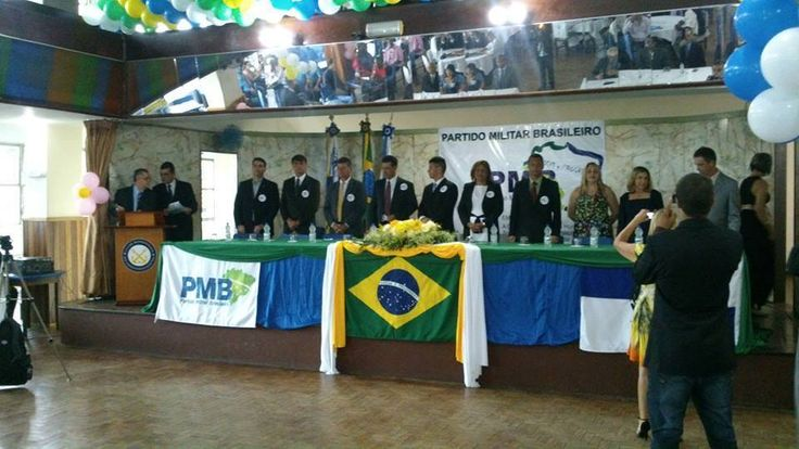 Partido Militar Brasileiro deve concorrer às eleições de 2016