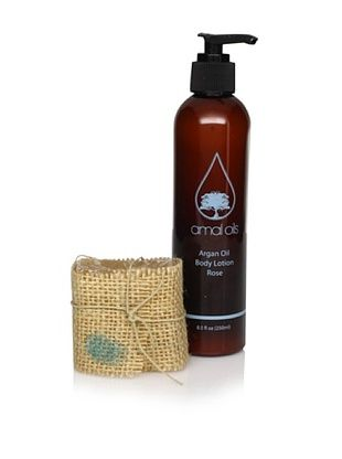 Amal Oils Rose Argan Oil Body Lotion