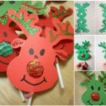 lollipop reindeer craft