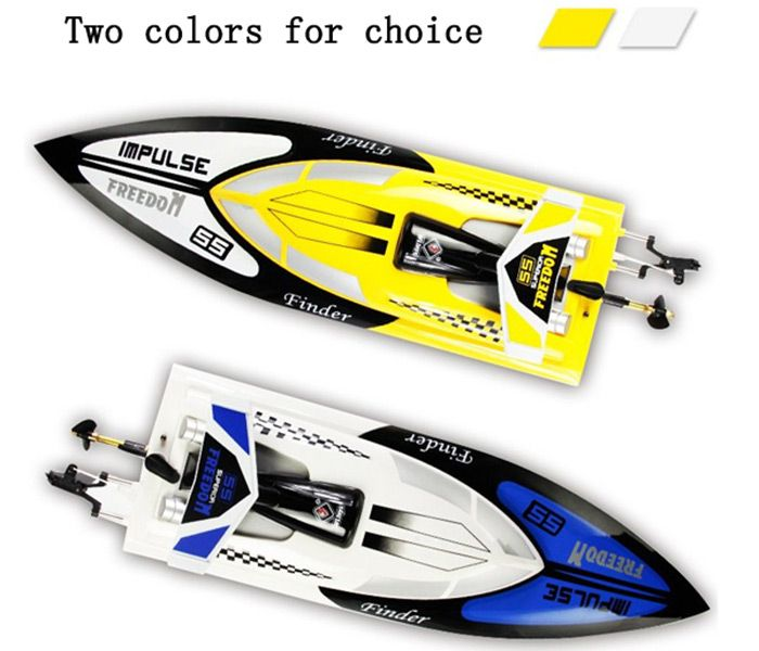 children Gift Water Finder 2.4G Remote Control Speed Racing Boat Anti-capsizing Freedom Impluse RC Boat Toy High Speed RC Boat > Newest remote control toys shop