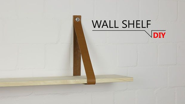 Picture of DIY - WALL SHELF // DIY-THAT'S SIMPLE