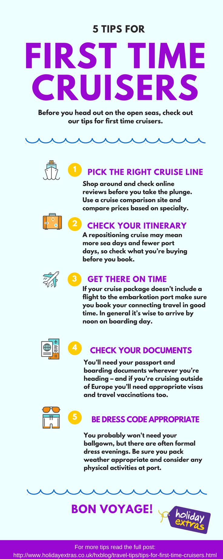 Are you a first-time cruiser? Check out our tips for making the most of your cruise holiday.