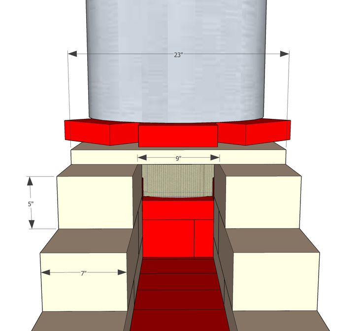 46 best rocket stove images on pinterest rocket stoves wood read step by step how to build an l shaped rocket mass heater with bricks and stone blocks fandeluxe Gallery