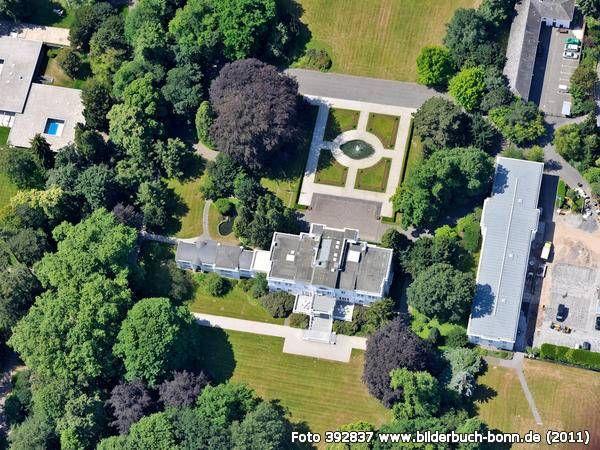 Villa Hammerschmidt, ehem. Sitz des Bundespräsidenten in Bonn