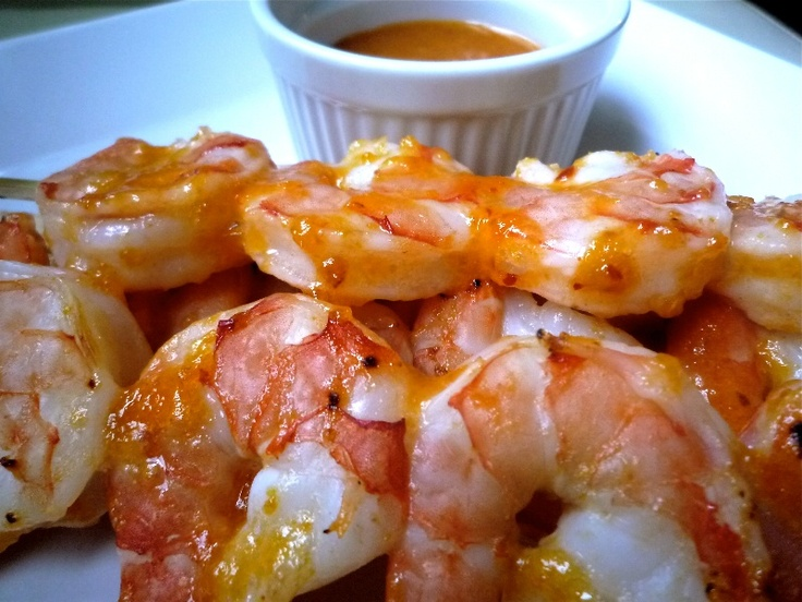 Spicy-Sweet Glazed Shrimp Recipes — Dishmaps