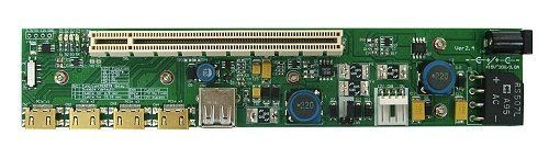PE4H-EC2C (PCIe Passive adapter ver2.4 with EC2C ExpressCard) by M-Factors / Bplus Technology. $91.00. The PE4H is designed for Notebook PCs that converts PCI Express 16X Add-on Card to ExCard or mPCIe or PCIe 1x connecter.  This adapter allows you to use your existing PCI-E 16X Card in the notebook PC for test.  PE4H-EC2C allows user to test PCI Express Add-in-Card on the ExpressCard slot.      System Requirements     Running Windows 7, XP (Not compatible with Apple Compute...