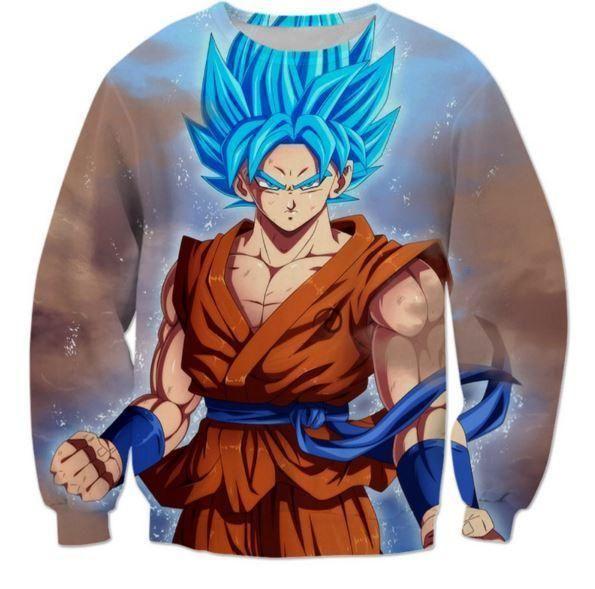 Dragon Ball Z Goku Super Saiyan Anime Series Sweat à Capuche Top