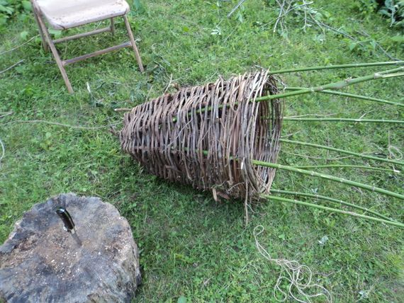 17 best images about fish baskets on pinterest survival for Homemade fish trap