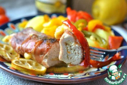 Куриная грудка на болгарском перце - кулинарный рецепт