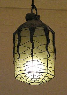 Everything Octopus: Art Deco Octopus Lanterns