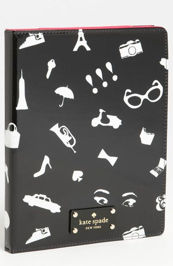 kate spade new york 'favorite things' iPad 2 & 3 folio | it kills me that this isn't for the iPad Mini too