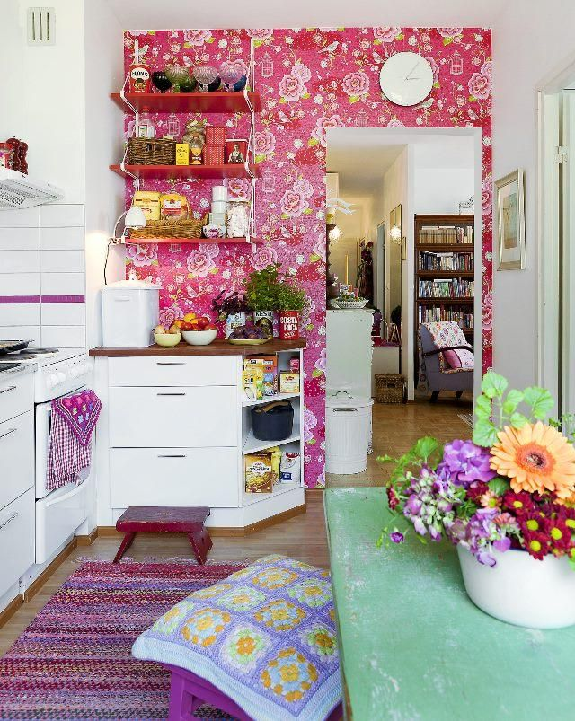 Boheemi keittiö. Bohemian kitchen. | Unelmien Talo&Koti Kuvaaja jaa toimittaja: Camilla Hynynen